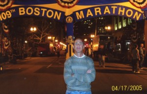 Billy the night before Boston