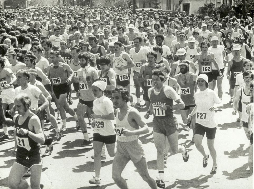 Boston 1973 start