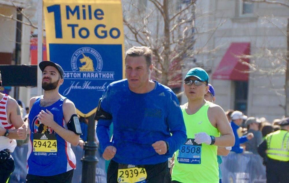 Dan Mullen one mile to go