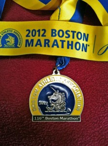 My finisher's medal. I did not steal it from somebody in the medical tent.