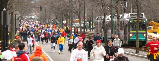 Lots of walkers in the latter stages (Austin Matzko Photo)