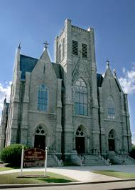 St. John the Evangelist parish was established in 1846. That's considered new in New England.