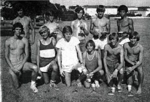 Western Hills High School Cross Country Team - early 1970s.